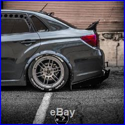 Subaru Impreza Fender Flares wide body kit wheel arch 2.0 (50mm) 4pcs