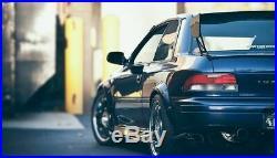 Subaru Impreza GC8 2 doors fender flares set, wide body kit, ABS plastic, smooth