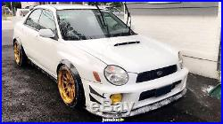 Subaru Impreza GD Fender flares JDM wide body kit wheel arch 50mm 2.0 4pcs