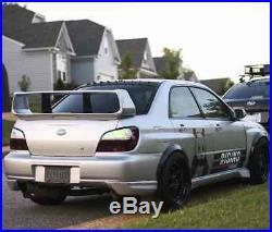 Subaru Impreza GD, GG Fender Flares wide body kit wheel arch 2 inch ABS plastic