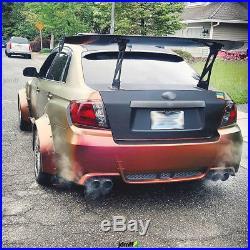 Subaru Impreza GRB Fender Flares CONCAVE wide body kit wheel arches 110mm 4pcs