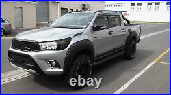 Toyota Hilux 2016-2018 Wide Arch Body Kit Fender Flares Modified Design