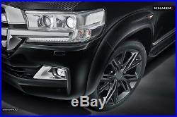 Toyota Lc200 2016+ Land Cruiser Wide Body Kit Wheel Arch Extender Fender Flares