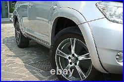 Toyota Rav4, 4 dors. OEM 4 Pack Front & Rear Side Fender Flare Kit (2001-06) S