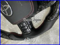 Toyota hilux rocco vigo carbon fiber steering wheel trd kit grill flare fender