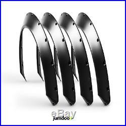 Universal Kotflügelverbreiterung JDM Fender flares radläufe CONCAVE 40mm 4Stück