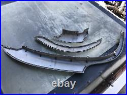 Used 01-03 Acura MDX 10 piece fender flare kit. Rare optional Acura accessory
