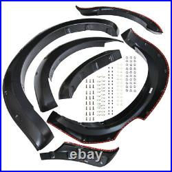 Used FRONT REAR WIDE BODY WHEEL ARCH FENDER FLARE KIT For Ford Ranger T6 2012-15
