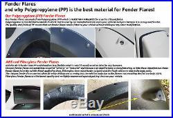 Ute Fender Flare Wheel Black Kit For TOYOTA HILUX REVO M70 M80 Guard TRD