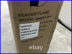VW Amarok 2010-2016 Wide Wheel Arch Kit Extended Fender Flares Matt Black 4 pcs