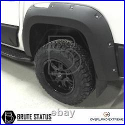 VW Amarok 2017+ Wide Arch Kit Wide Body Wheel Arches Fender Flares (V6 model)