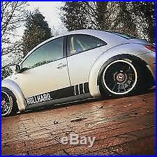 VW New Beetle Fender Flares JDM Wide Body Kit Arch Extensions 70mm 4pcs