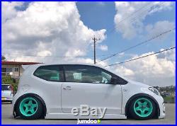 Volkswagen Up Fender Flares JDM wide body kit wheel arch VW Up! 50mm 4pcs set