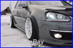 Volkswagen VW Golf Mk5 Fender Flares wide body kit wheel arch 50mm (2.0) 4pcs