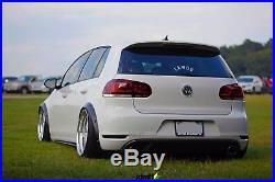 Volkswagen VW Golf Mk6 Fender Flares wide body kit wheel arch 50mm (2.0) 4pcs
