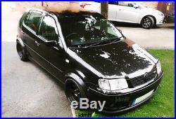 Volkswagen VW Polo Mk3 Fender Flares wide body kit wheel arch 50mm (2.0) 4pcs