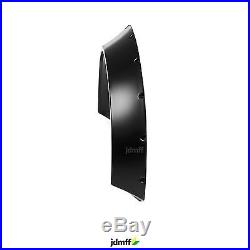 Volvo 740 745 Fender flares CONCAVE wide body kit wheel arches 110mm 4pcs