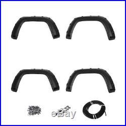 Wheel Eyebrow Smooth Fender Flares Wheel Arches Kit For Volkswagen Amarok 10-17