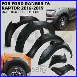 Wide Arch Kit Fender Flares/Wheel Arch for Ford Ranger T6 Raptor 2016-2019 UK