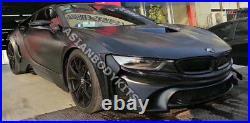 Wide Body kit for BMW i8 2014-2017 FRONT BUMPER FENDER FLARES SPOILER