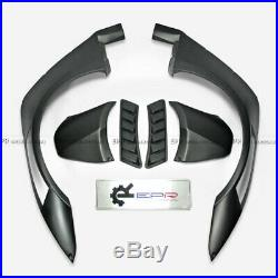 Wide Front & Rear Flares Fender Kits For Nissan GTR R35 CBA DBA LB LP Ver2 Style