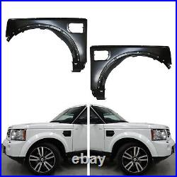 Wide Wheel Arch Fender Flare Trim Kit Set For Land Rover Discovery 4 Lr4 10-17