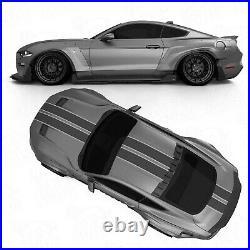 Widebody fender flares set LION'S KIT V2 for Ford Mustang VI 6 S550 18