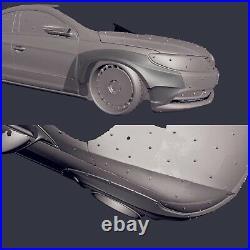 Widebody fender flares set V. 3 LION'S KIT for VW Passat CC STOCK 12-16 S2