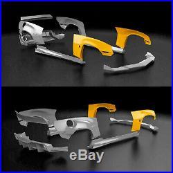 Widebody front fender flares LION'S KIT V. 1 for Camaro V RS SS ZL1 Z/28 09-16